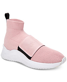 Calvin Klein Women's Uni Stretch Knit Sneakers