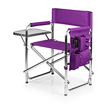 Picnic Time Purple Sports Chair