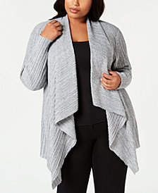 Alfani Plus Size Completer Cardigan, Created for Macy's