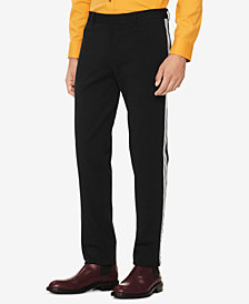 Calvin Klein Men's Side Seam-Taped Knit Pants