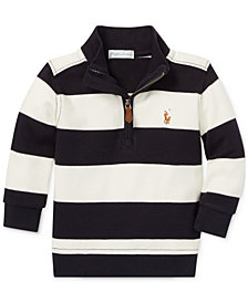 Polo Ralph Lauren Baby Boys Half-Zip Cotton Pullover