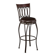 Brookshire Swivel Bar Stool, Quick Ship