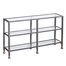 Jaymes 3-Tier Console Table, Quick Ship