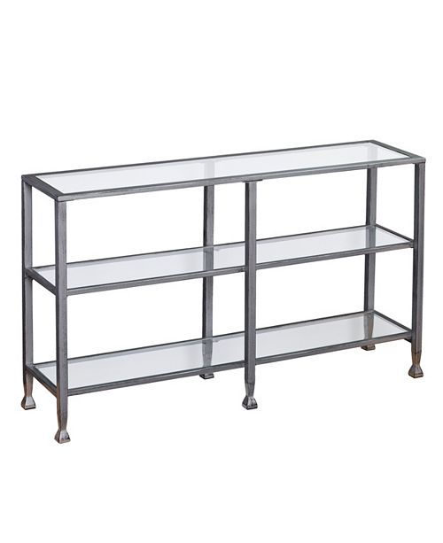 Southern Enterprises Jaymes 3-Tier Console Table
