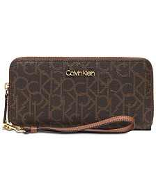 Calvin Klein Signature Zip-Around Wallet