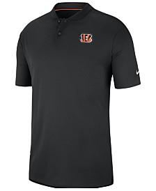 Nike Men's Cincinnati Bengals Elite Coaches Polo 2018