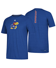 adidas Men's Kansas Jayhawks Sideline Sequel T-Shirt