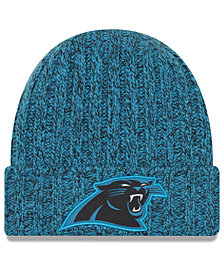 New Era Women's Carolina Panthers On Field Knit Hat