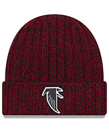 New Era Women's Atlanta Falcons On Field Knit Hat