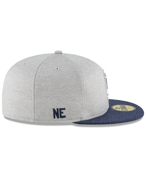4b0510fd8 Boys  New England Patriots Official Sideline Road 59FIFTY Fitted Cap. Be  the first to Write a Review. main image  main image  main image  main  image  main ...