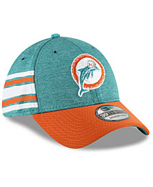 New Era Boys' Miami Dolphins Sideline Home 39THIRTY Cap