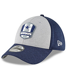 New Era Boys' Dallas Cowboys Official Sideline Road 39THIRTY Stretch Fitted Cap