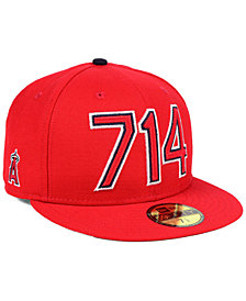 New Era Los Angeles Angels Area Code 59FIFTY FITTED Cap