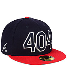 New Era Atlanta Braves Area Code 59FIFTY FITTED Cap