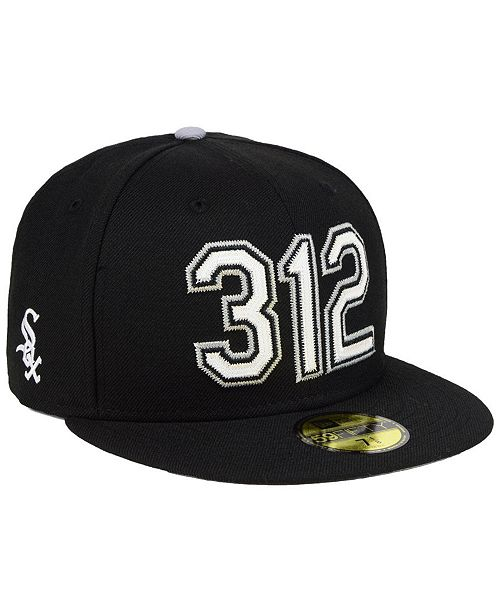 1e3813f1 ... New Era Chicago White Sox Area Code 59FIFTY FITTED Cap ...