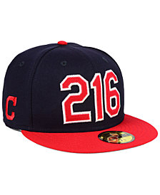 New Era Cleveland Indians Area Code 59FIFTY FITTED Cap