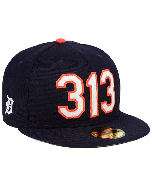 huge selection of 4d60a 43ebb ... New Era Detroit Tigers Area Code 59FIFTY FITTED Cap ...