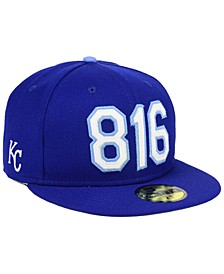 Kansas City Royals Area Code 59FIFTY FITTED Cap