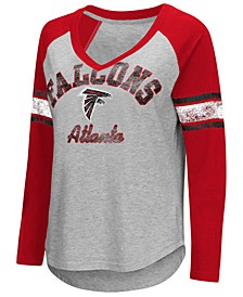 Women's Atlanta Falcons Sideline Long Sleeve T-Shirt