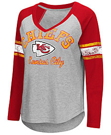 G-III Sports Women's Kansas City Chiefs Sideline Long Sleeve T-Shirt
