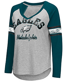 G-III Sports Women's Philadelphia Eagles Sideline Long Sleeve T-Shirt