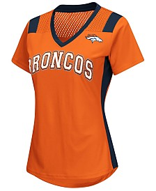 G-III Sports Women's Denver Broncos Wildcard Jersey T-Shirt