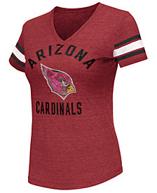 G-III Sports Women's Arizona Cardinals Wildcard Bling T-Shirt