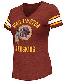 G-III Sports Women's Washington Redskins Wildcard Bling T-Shirt