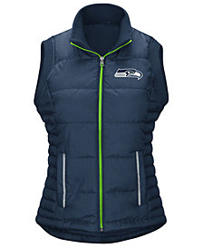 G-III Sports Women's Seattle Seahawks First Down Vest