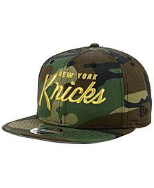New Era New York Knicks Classic Script 9FIFTY Snapback Cap