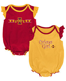 Outerstuff Iowa State Cyclones Homecoming Creepers 2 Pack, Infants (0-9)