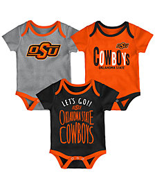 Outerstuff Oklahoma State Cowboys Lil Tailgater 3 Piece Set, Infants (0-9 Months)