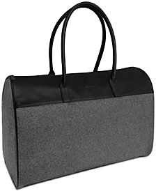 Receive a Complimentary Weekender Bag with any large spray purchase from the Hugo Boss Boss Bottled fragrance collection