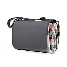 Picnic Time Blanket Tote XL Grey Outdoor Picnic Blanket