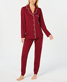 Alfani Super-Soft Pajama Set, Created for Macy's