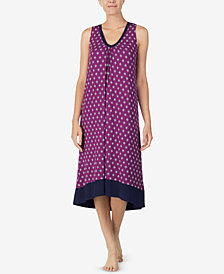Ellen Tracy Printed Ballet Nightgown