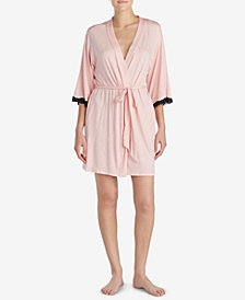 Betsey Johnson Lace-Heart Robe