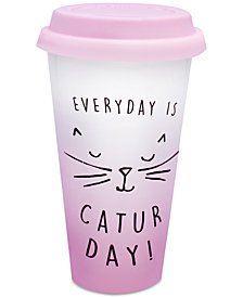 CLOSEOUT! TMD Holdings Caturday Travel Mug