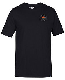 Hurley Men's Divisions Graphic T-Shirt
