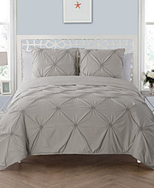 VCNY Home Floral Burst Reversible 3-Pc. Full/Queen Quilt Set