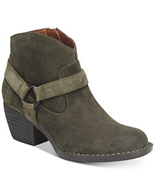 Born Carmel Harness Booties, Created for Macy's