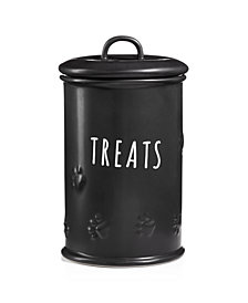 Harry Barker Black Matte Treat Jar