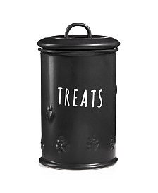Harry Barker Black Matte Treat Jar