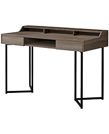 "Monarch Specialties 48""L Computer Desk -in Dark Taupe"
