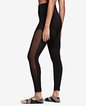 bac2d70b78471 adidas High-Rise Seamless Warp-knit Ankle Leggings