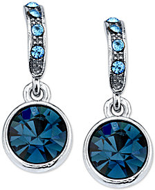 2028 Blue Stone Earrings