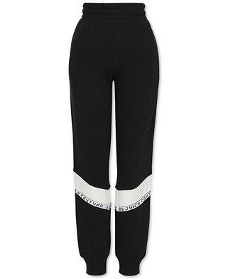 a285b01284 Juicy Couture Logo-Trim Jogger Pants   Reviews - Leggings   Pants - Juniors  - Macy s