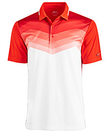 Greg Norman for Tasso Elba Men's Malden Ombré Stripe Performance Polo, Created for Macy's