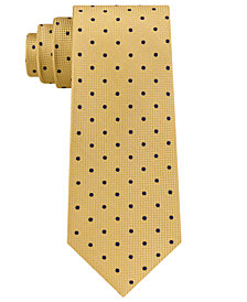 Club Room Men's Textural Dot Silk Tie, Created for Macy's