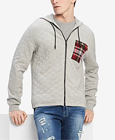 Tommy Hilfiger Men's Quilted Hoodie, Created for Macy's